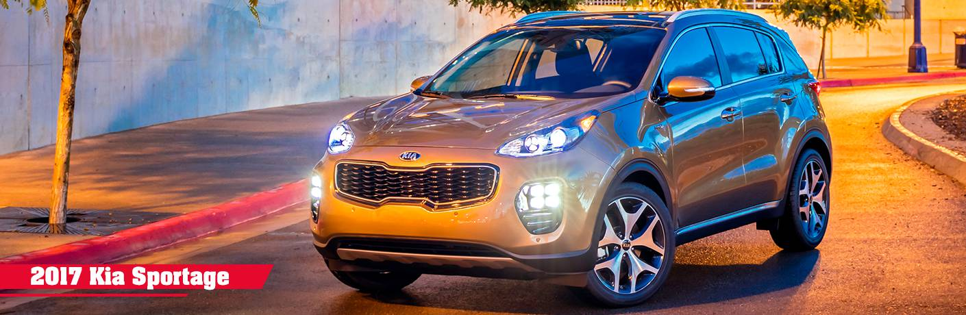 2017 Kia Sportage trim level comparisons EX LX and SX Turbo Clearwater St. Petersburg FL