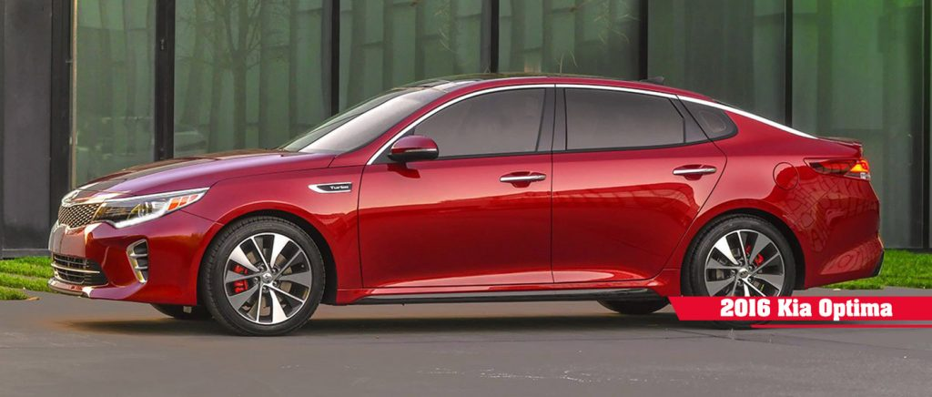 2016 Kia Optima sedan Friendly Kia test drive incentive