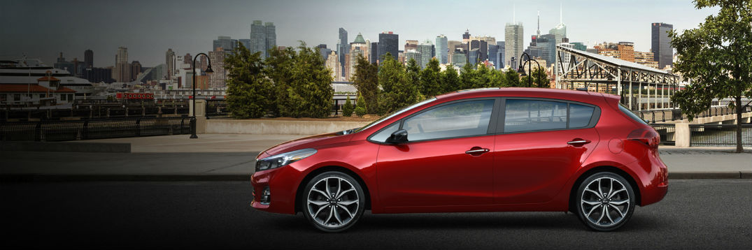 2017 Kia Forte5 exterior color options and interior fabric choices