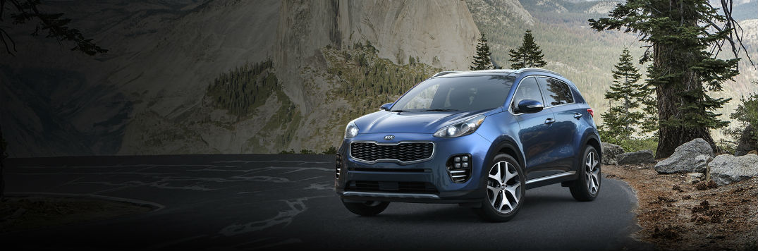 2018 kia sportage shown in a color