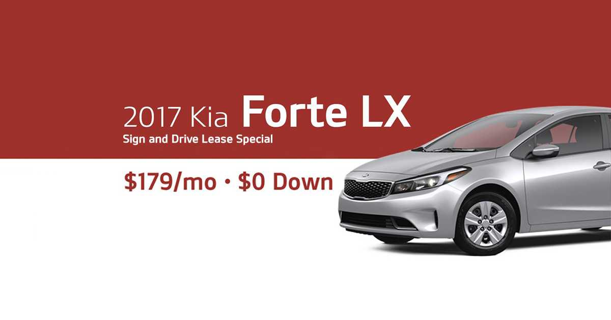 2017 Kia Forte Labor Day lease offer Friendly Kia New Port Richey FL