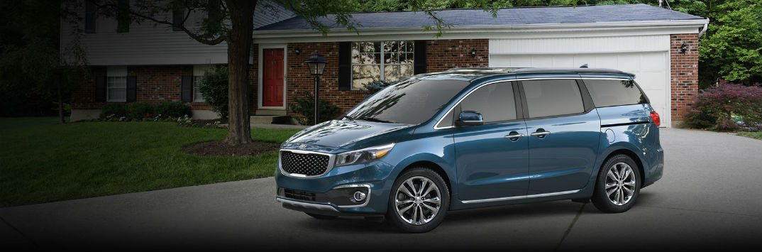 2017 Kia Sedona entertainment and audio options UVO eServices