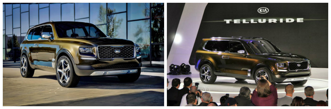 Kia Telluride concept SUV specs and possible release date