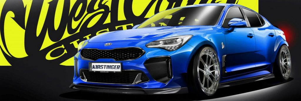 Ford Of Port Richey >> 2018 Kia Stinger Drifting at SEMA Show with Emerson Fittipaldi
