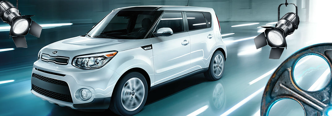 2018 kia soul with film equipment photoshopped over it
