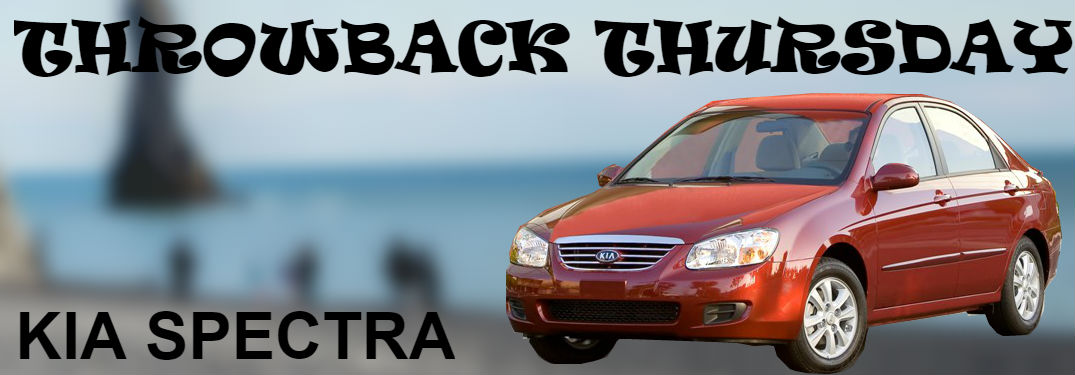 Kia spectra model history and photos friendly kia new port kia spectra on blurred beach background for throwback thursday publicscrutiny Image collections