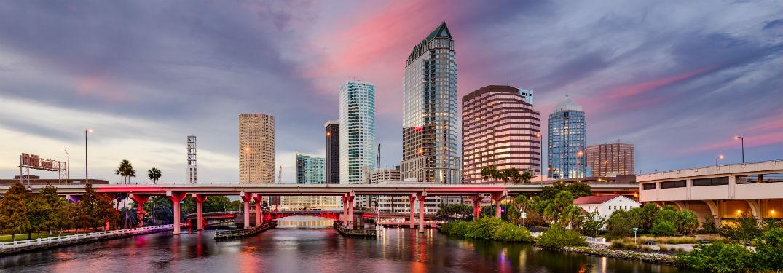 Downtown Tampa Skylineb Friendly Kia