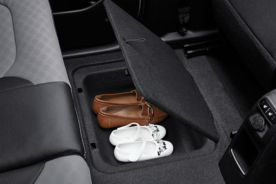 in-floor shoebox for 2018 kia ray