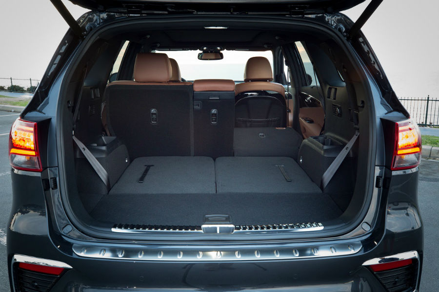 2019 Kia Sorento Cargo Space and Passenger Space ...