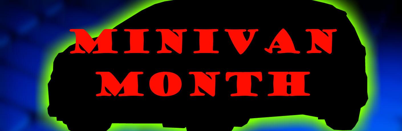 Minivan month over glowing silhouette of 2019 Kia Sedona