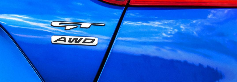 GT Badging on Kia Stinger