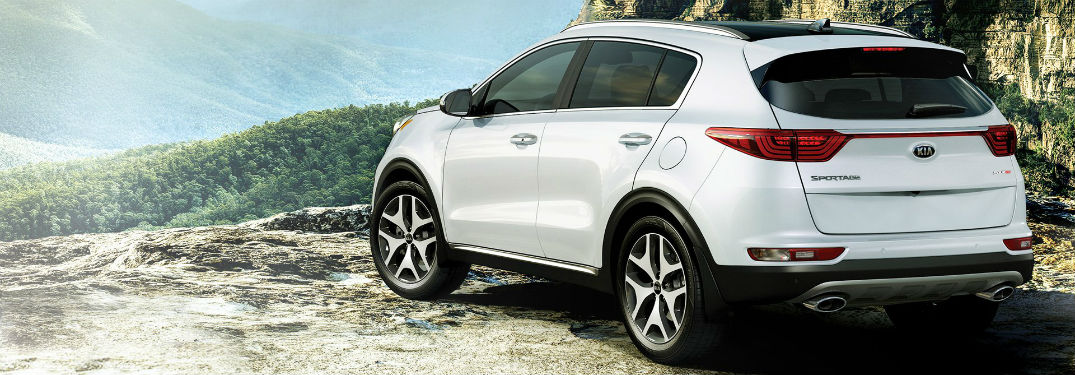 Go Exciting New Places in the New Sportage!