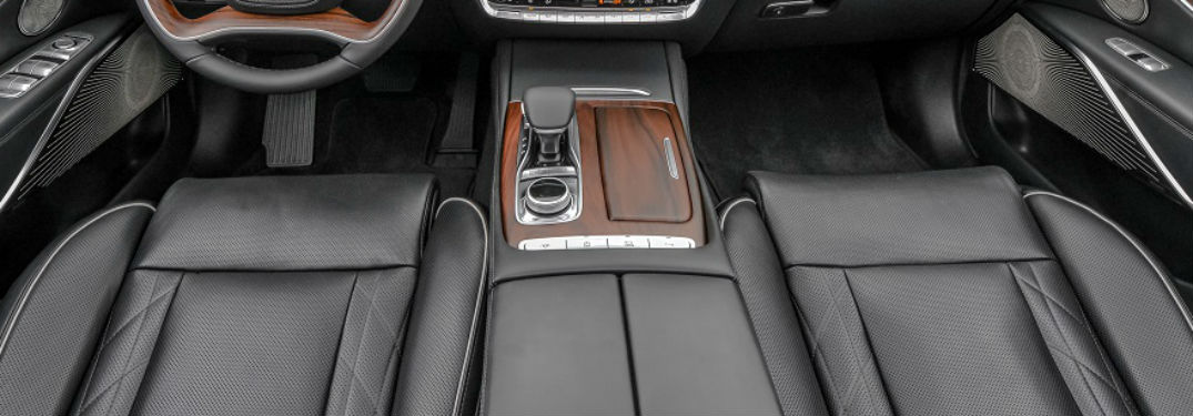 interior seating in 2019 kia k900