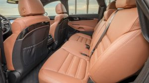 2019 kia sorento interior with quilted nappa leather seating