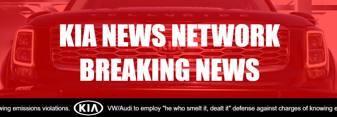 Kia News Network breaking news image with humorous chiron