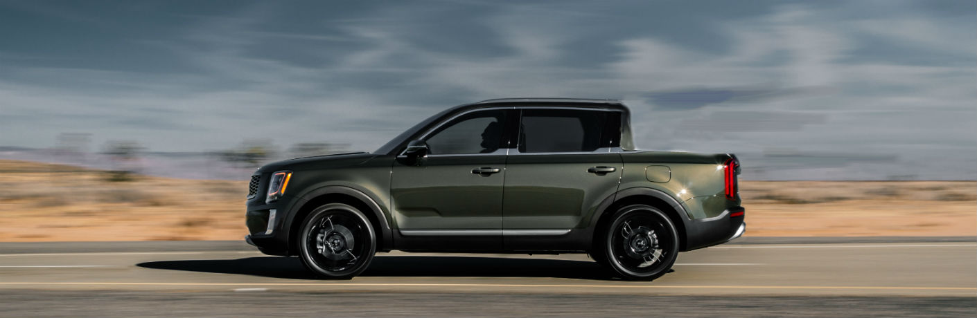 2020 Kia Telluride pickup mock up