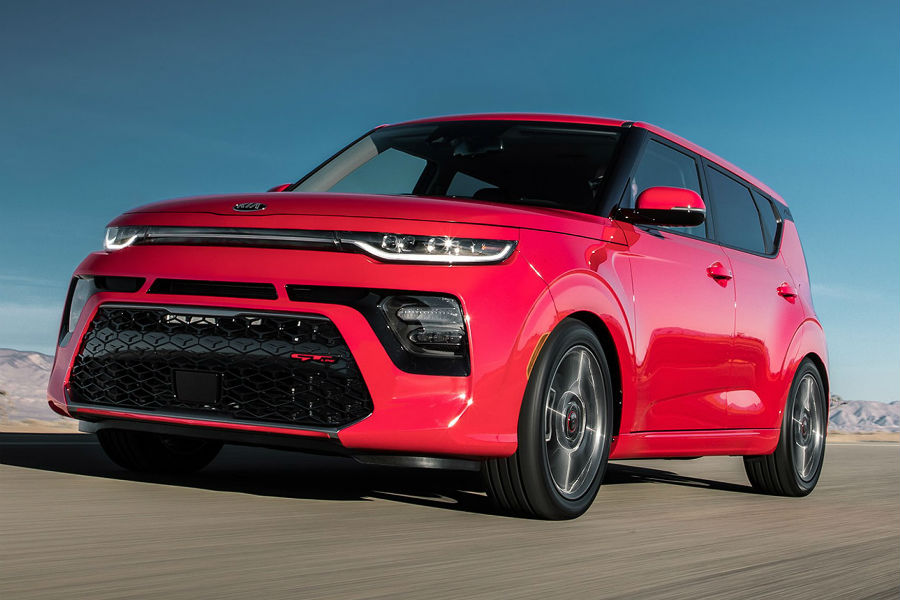 2020 Kia Soul GT Line in Inferno Red