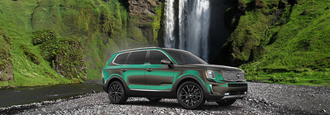 The Kia Telluride Breaks Down Barriers by Climbing Over Them