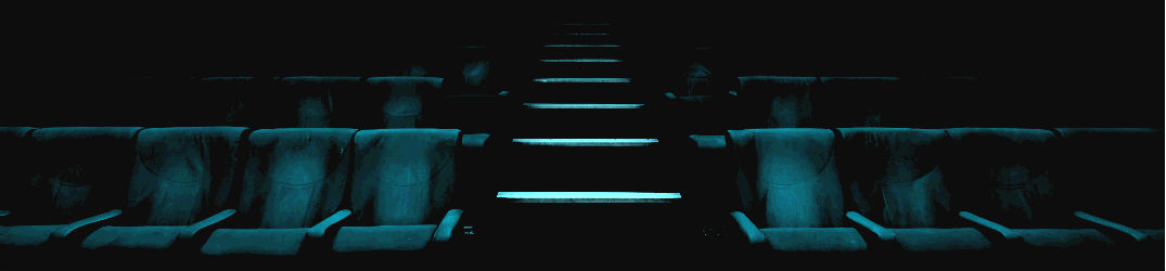 stylized photo of theatre chairs