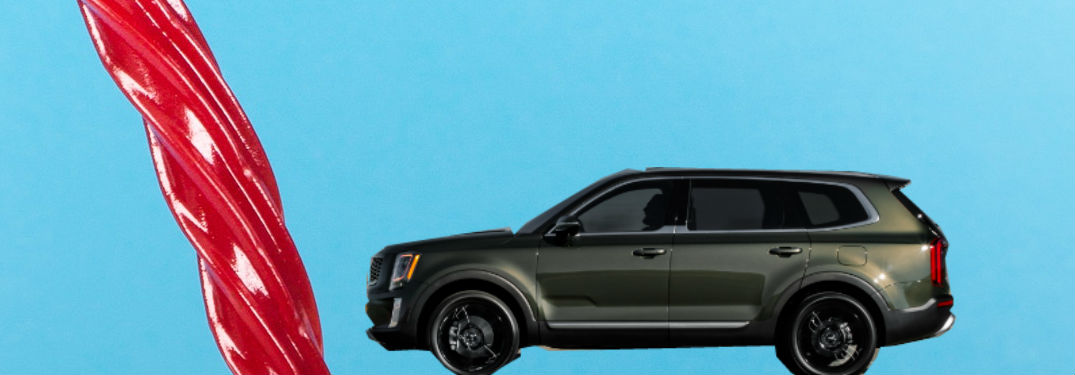 How Much Licorice Can Fit in the Brand-New Kia Telluride?