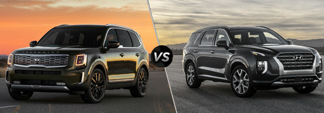 2020 Kia Telluride Vs 2020 Hyundai Palisade side by side comparison
