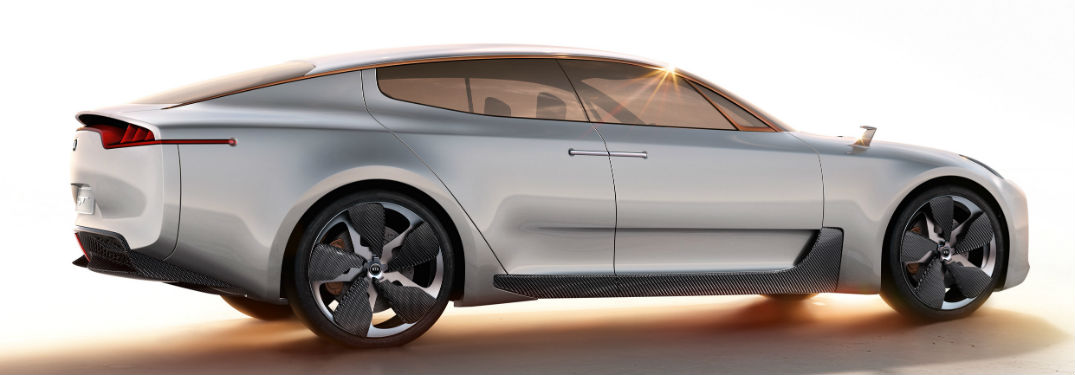 Kia GT Concept from rear three quarter