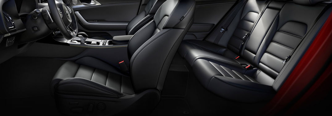 seats in 2019 kia stinger gt
