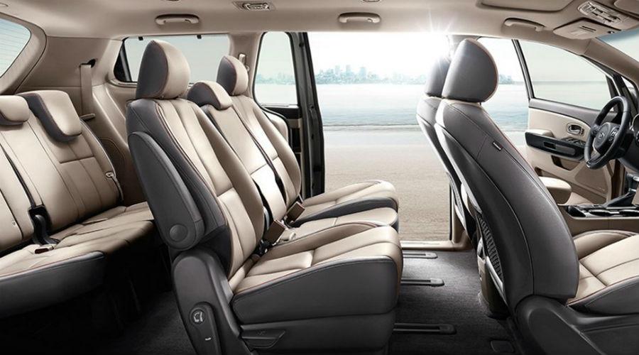 seating profile in 2020 kia sedona