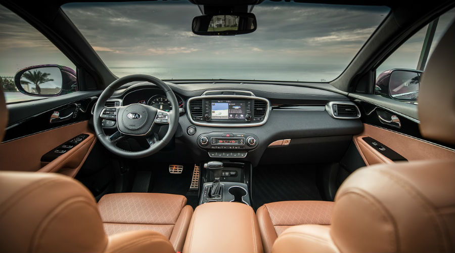 interior of 2020 kia sorento