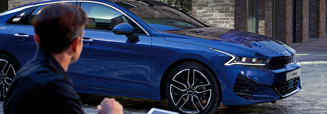 blue 2021 Kia Optima K5
