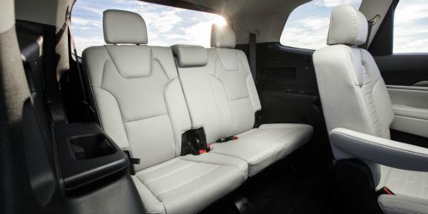 Rear seating in 2020 Kia Telluride