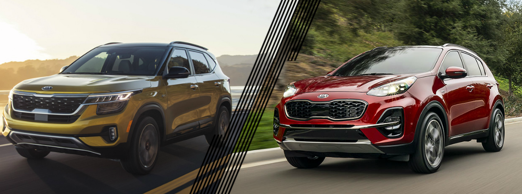 Is the Kia Seltos or Kia Sportage Bigger?