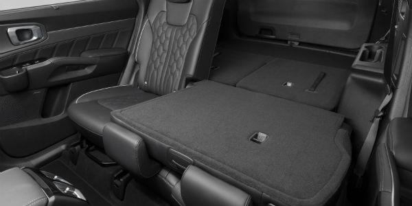 Rear seats in 2021 Kia Sorento