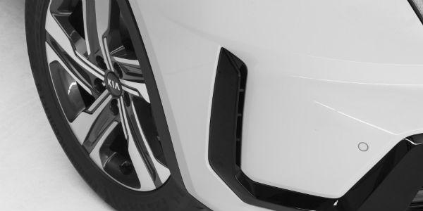Closeup of 2021 Kia Sorento