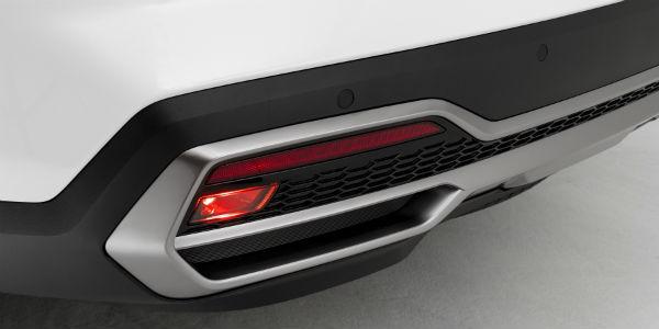 Closeup of rear end of 2021 Kia Sorento