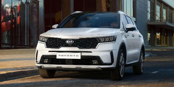 Front view of 2021 Kia Sorento