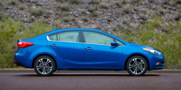 Blue 2016 Kia Forte
