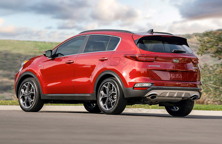 Red 2020 Kia Sportage