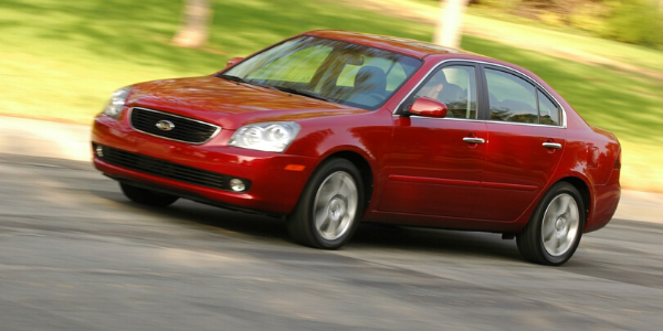 Red 2007 Kia Optima