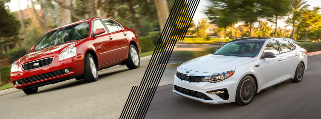 Then and Now: Kia Optima
