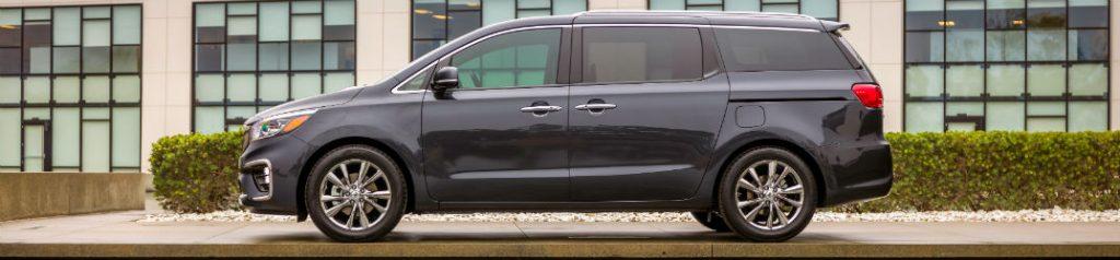 Side view of 2020 Kia Sedona