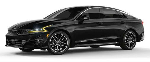 2021 Kia K5 in Ebony Black