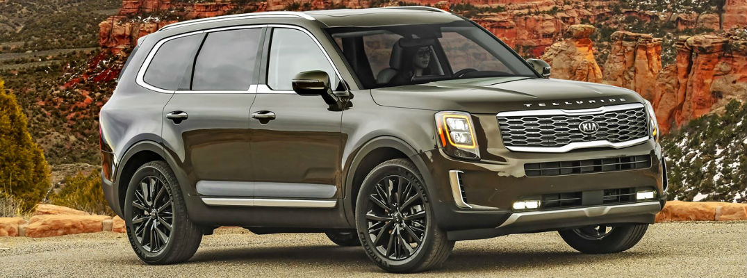How Much Space Is in Each 2021 Kia Telluride Row?