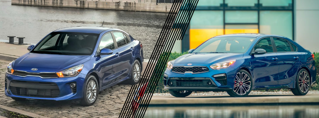 Kia vs Kia – Should I Get a Rio or a Forte?