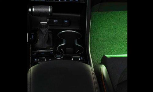 Interior lighting in 2021 Kia K5