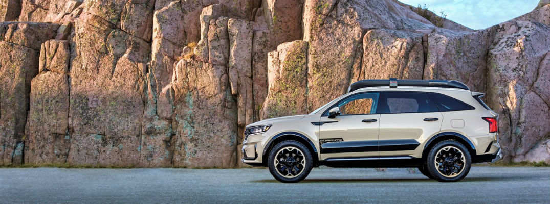 Kia Showcases Capability and Adventure with Two Sorento X-Line Concepts