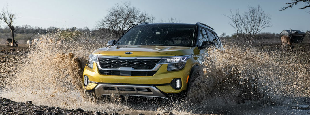 Can I Go Off-Roading in the 2021 Kia Seltos?