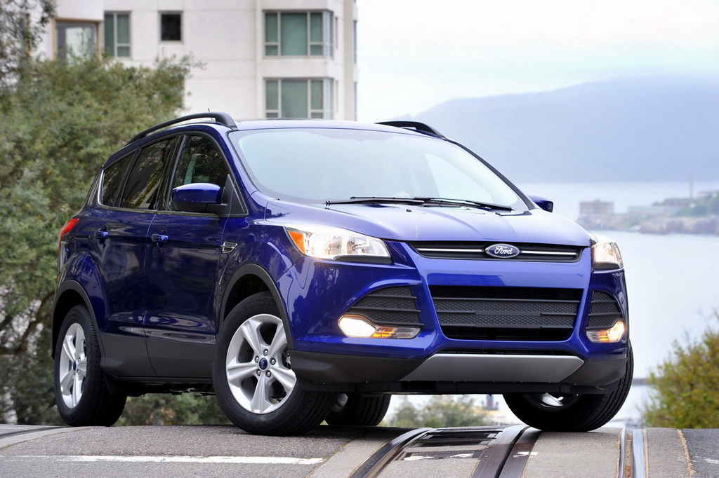 2013 Ford Escape Blue Front Western Slope Auto