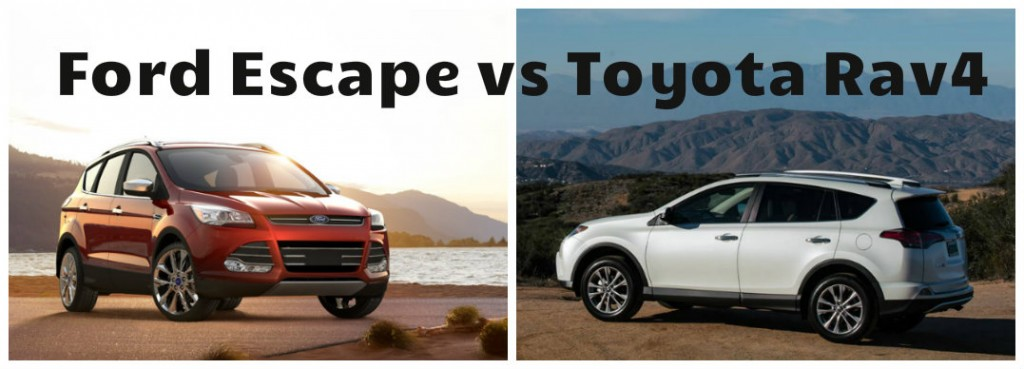 2016 ford escape vs toyota rav4. Black Bedroom Furniture Sets. Home Design Ideas
