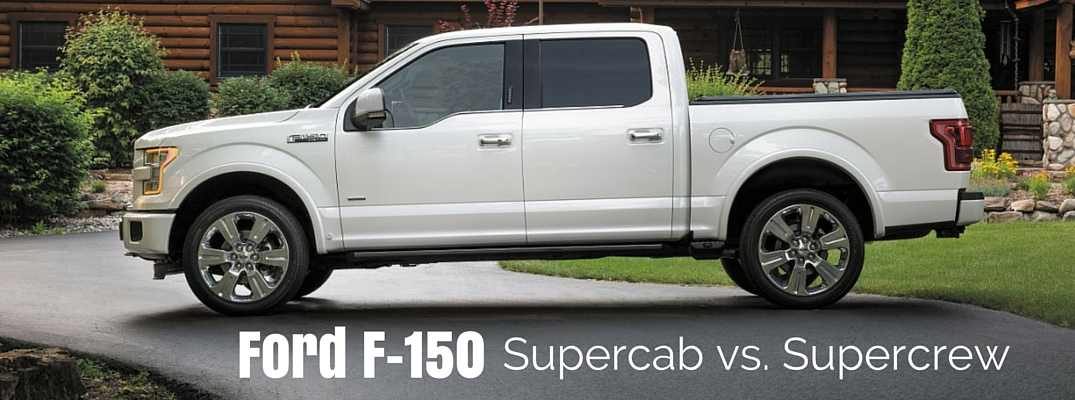 Ford F-150 Supercab vs Supercrew: What's the Difference?